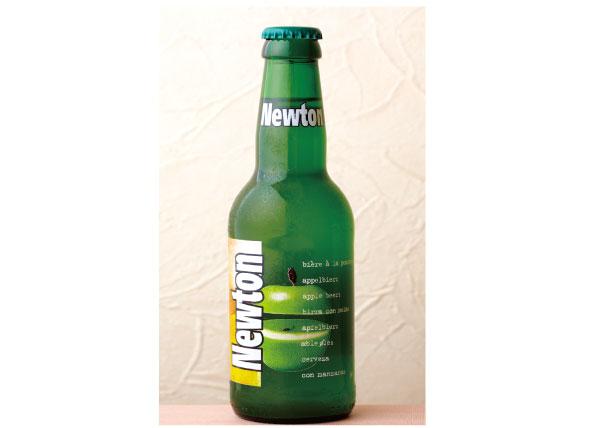 ニュートン(青リンゴビール)